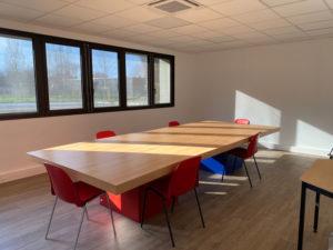 Salle de réunion locaux Gerontim Francheville